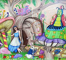 Magic of Wonderland by Sandra Gale