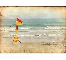 Swim between the Flags. Photographic Print