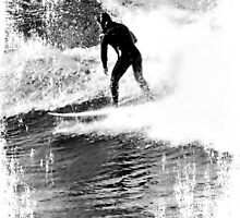 Surfer. by Lynne Haselden