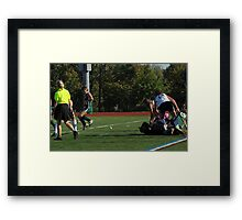 100511 075 0 field hockey Framed Print