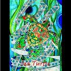 SEA TURTLE by joancaronil