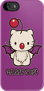Hello Kupo - IPHONE CASE by MeganLara