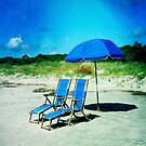 Beach Chairs (iPhone case) by Rene Hales