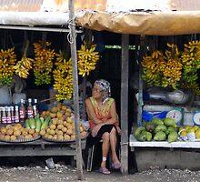 Fruit stall, Tagaytay, Philippines by Cara Gallardo Weil