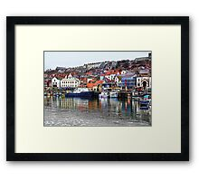 Scarborough Harbour Framed Print