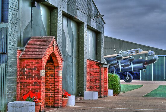The Chapel RAF East Kirkby - HDR by Colin  Williams Photography