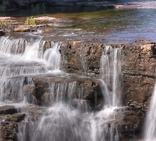 Waterfalls - Almonte, Ontario by Josef Pittner
