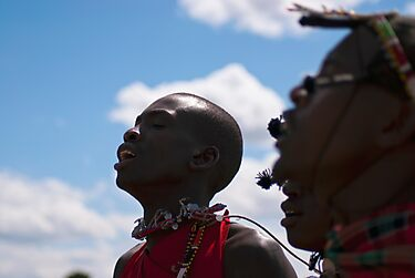 Maasai Warriors by evilcat
