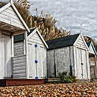 Bexhill - beach Huts by Paul Morris