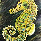 SeaHorse / SeaDragon Iphone case by WhiteDove Studio kj gordon