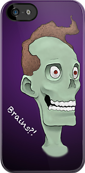 Zombie Brains- Purple by scottwell
