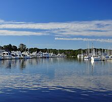 Harbor View at Wickford  by John  Kapusta
