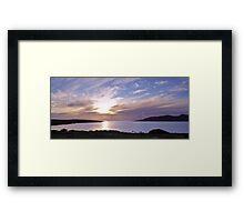 Evening at Trawenagh Bay Framed Print