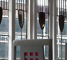 Chair & Window Detail, The Willow Tearoom, Glasgow by MagsWilliamson