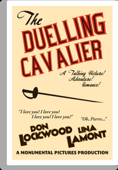 "Singin' in the Rain - ""The Duelling Cavalier"" by Sam Novak"