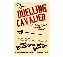 """Singin' in the Rain - """"The Duelling Cavalier"""" Photographic Print"""