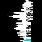 New York - The Big Apple iPhone - Black - (iPhone) by Adam Angold