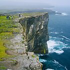 Cliffs at Dún Aonghasa by Dean Cunningham