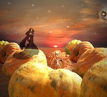Pumpkins On Parade by Greta  McLaughlin