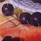 Cherries Jubilee - iPhone Case by Michael Beckett