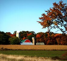 Rural Wisconsin In Autumn by kkphoto1