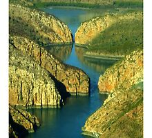 Horizontal falls by Julia Harwood