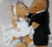 Mr & Mrs Teddy by AnnDixon