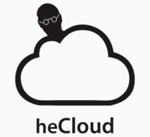 heCloud - Steve Jobs Tribute T-shirt by Simone Salis