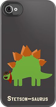 Stetson-saurus by DinobotTees