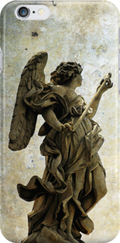 iphone Angel in Rome by buttonpresser