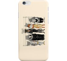 Unusual Suspects iPhone Case/Skin