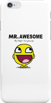 Mr Awesome by thatdavieguy