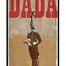 Dada Tarot- 2 of Swords by Peter Simpson
