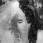 Zombie Bride Self Portrait  by Melissa Pinard