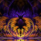Halloween Fractal by sstarlightss