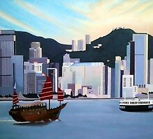 Hong Kong Dawn by art4u