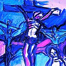 Crucifixion of Jesus  by vickimec
