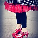 ruby shoes by Rosemary Scott