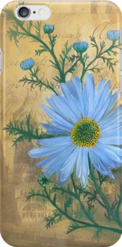 Russia's Chamomile iPhone Case by Carrie Jackson
