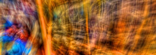 Comic Frenzy - Kinetic Abstract by njordphoto