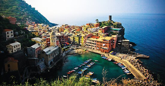 Vernazza by Kelly Kingston