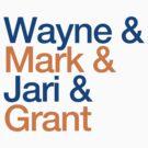 Wayne & Mark & Jari & Grant by pootpoot