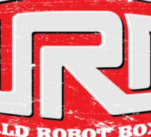 World Robot Boxing Sticker