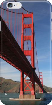 Golden Gate iPhone Case by Laurie Search