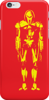 Cylon iPhone Case by monsterplanet