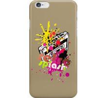Retro Splash iPhone Case/Skin