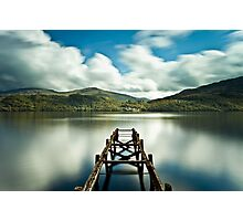 Loch Lomond Jetty Photographic Print