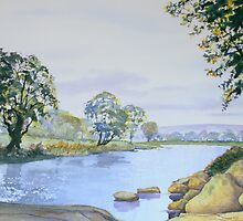 River Wharfe - Late Summer by Glenn Marshall