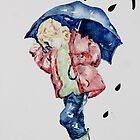 Me and my Umbrella ! by Kay Clark