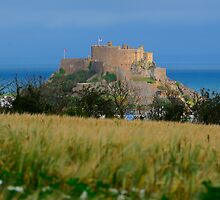 Mont Orgueil Castle by Mark Bowden